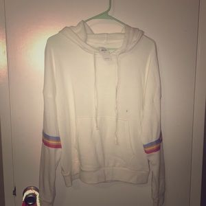 NWT American Eagle Outfitters striped hoodie